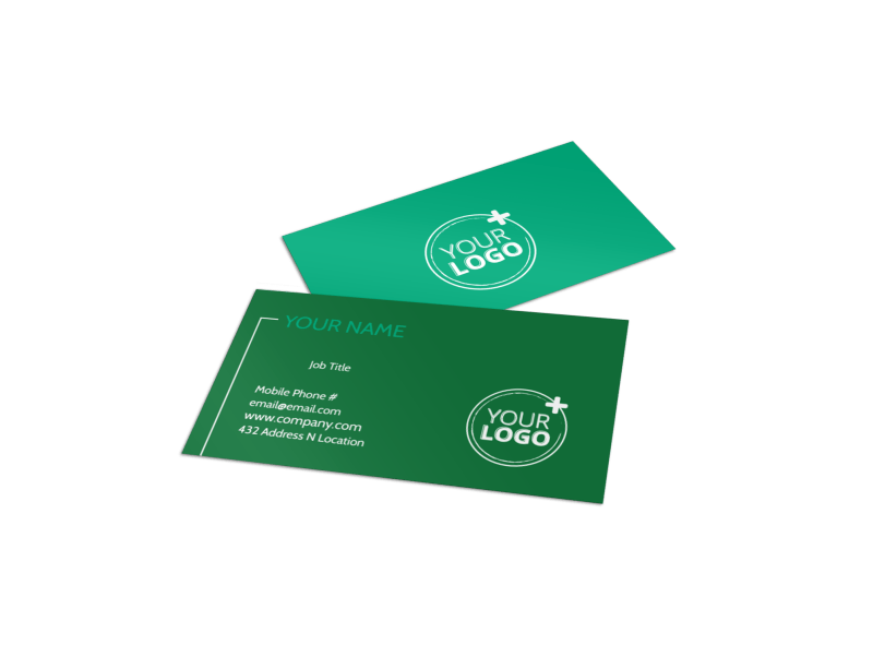 Renewable Energy Business Card Template Preview 1