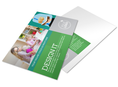 Personal Finance Consulting Postcard Template preview