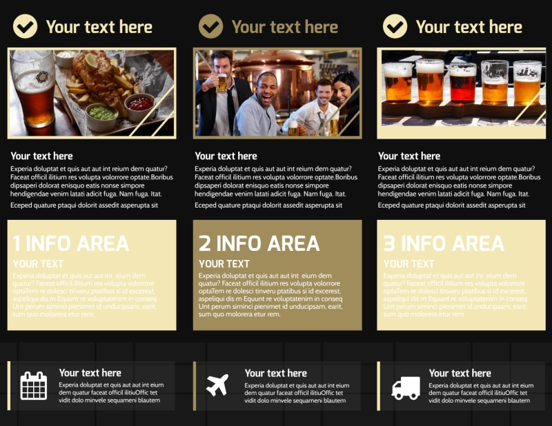 Beer Festival Brochure Template Preview 3