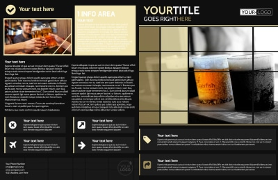 Beer Festival Brochure Template Preview 1
