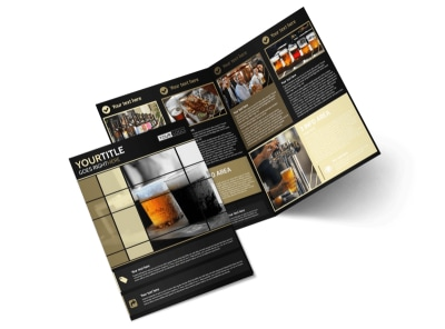 Beer Festival Bi-Fold Brochure Template 2 preview