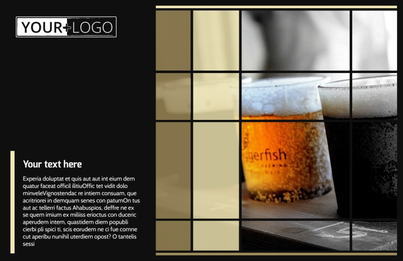 Beer Festival Postcard Template Preview 2