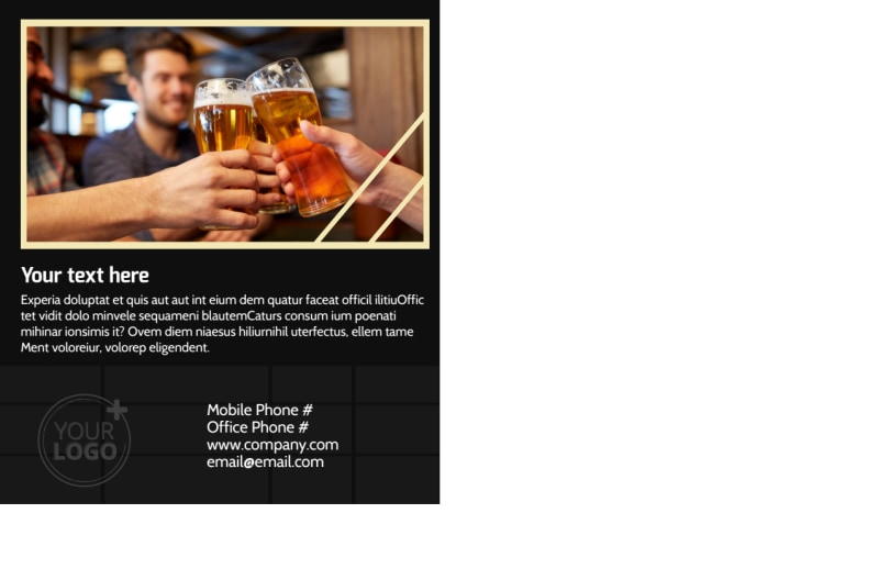 Beer Festival Postcard Template Preview 3