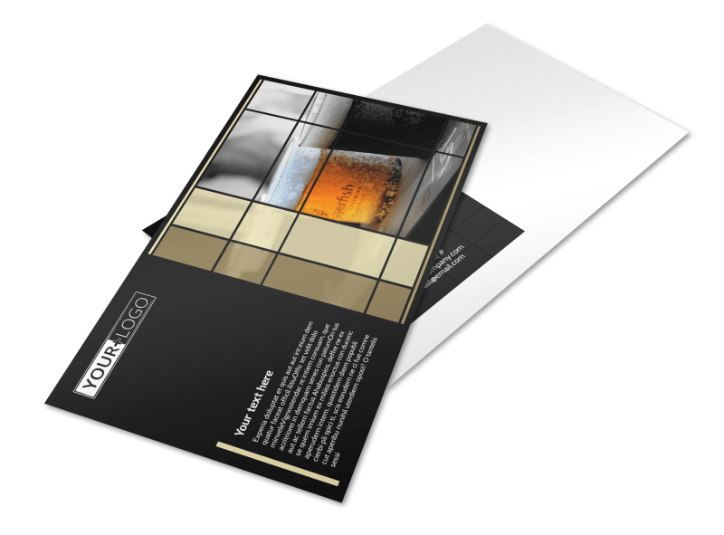 Beer Festival Postcard Template Preview 1