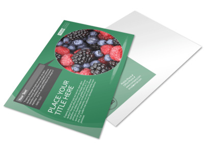 Total Nutrition Professionals Postcard Template