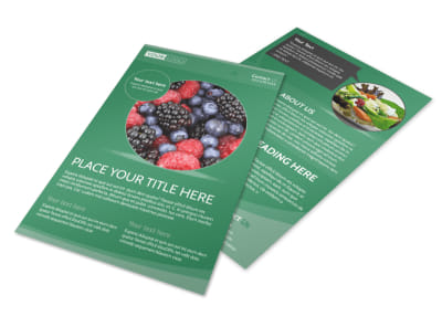 Total Nutrition Professionals Flyer Template