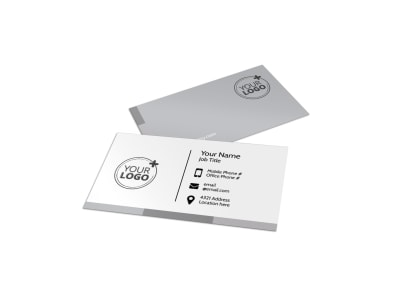 Main Event Caterers Business Card Template preview