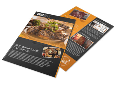 Local Steakhouse Flyer Template