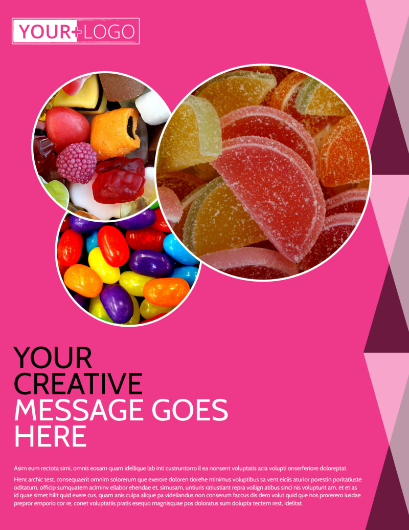 Candy Land Flyer Template Preview 2