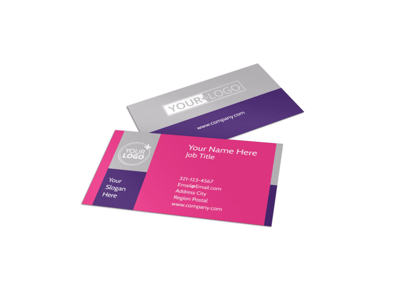 Candy Land Business Card Template