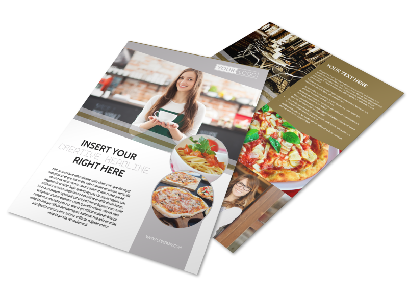 Italian Bistro Flyer Template Preview 1