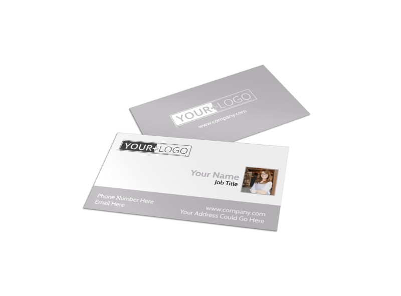 Italian Bistro Business Card Template
