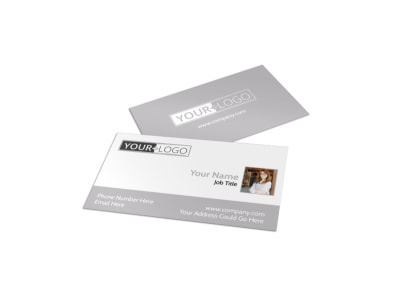 Italian Bistro Business Card Template preview