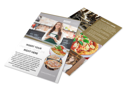 Italian Bistro Flyer Template preview