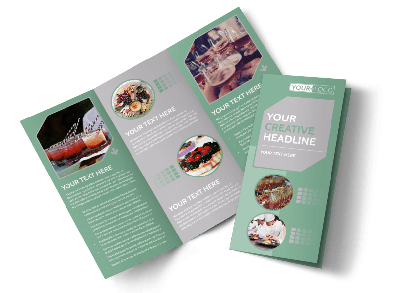 Special Event Caterers Brochure Template Preview 1