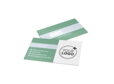 Special Event Caterers Business Card Template preview