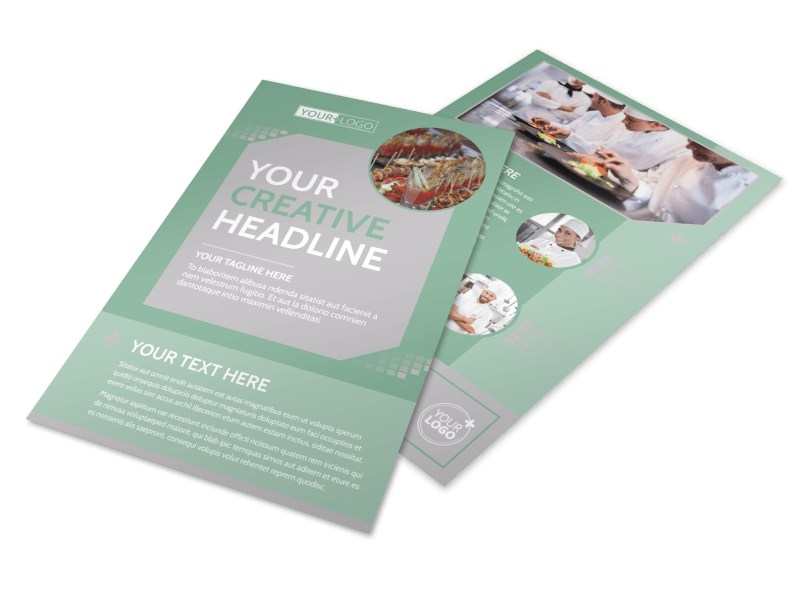 Special Event Caterers Flyer Template Preview 4
