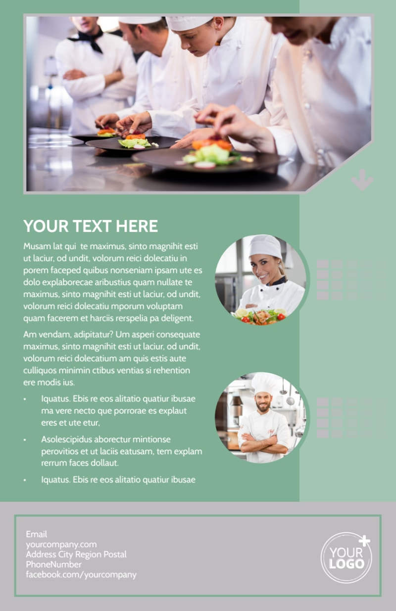 Special Event Caterers Flyer Template Preview 3