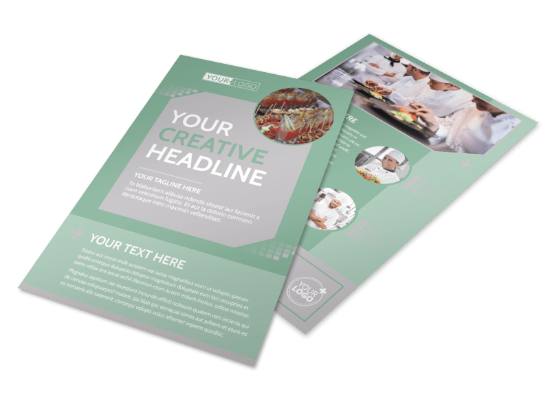 Special Event Caterers Flyer Template Preview 1