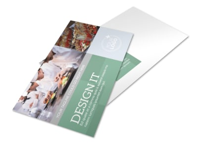 Special Event Caterers Postcard Template preview