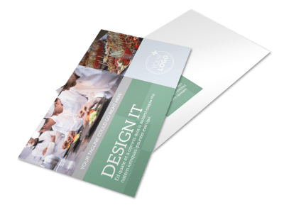 Catering Postcards Template Preview