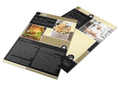 Great Burger Flyer Template