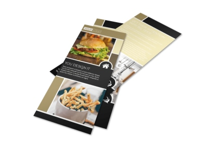 Great Burger Flyer Template preview
