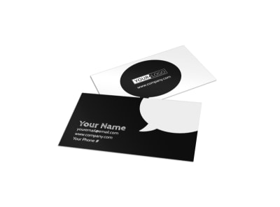 Great Burger Business Card Template preview