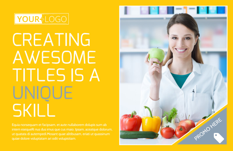 Start Today Nutrition Postcard Template Preview 2