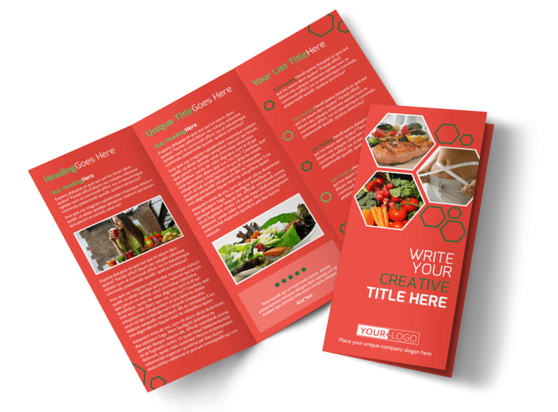 Nutrition experts brochure template mycreativeshop for Nutrition brochure template