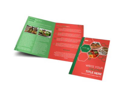 Nutrition Experts Bi-Fold Brochure Template