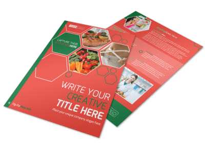 Nutrition Experts Flyer Template