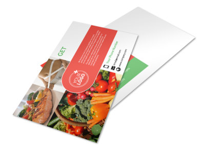 Nutrition Experts Postcard Template