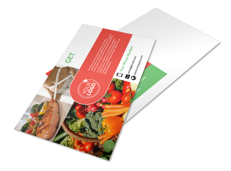 Nutrition Experts Postcard Template Preview 1