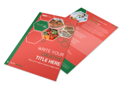 Nutrition Experts Flyer Template 3