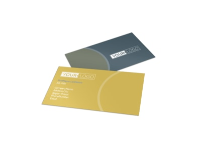 Wine & Spirits Business Card Template