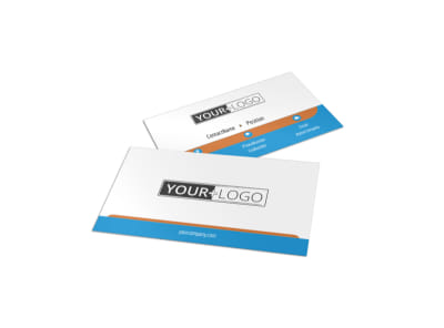 Hot Coffee Shop Business Card Template preview