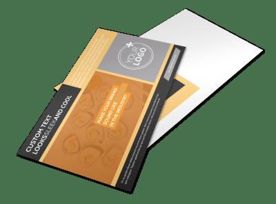 Restaurant Postcard Templates Template Preview