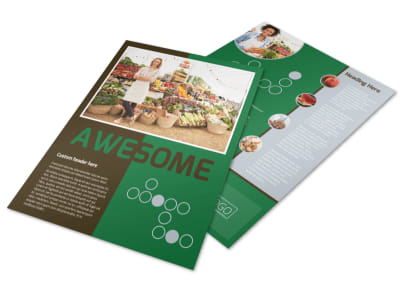 Delicious Food Co-op Flyer Template