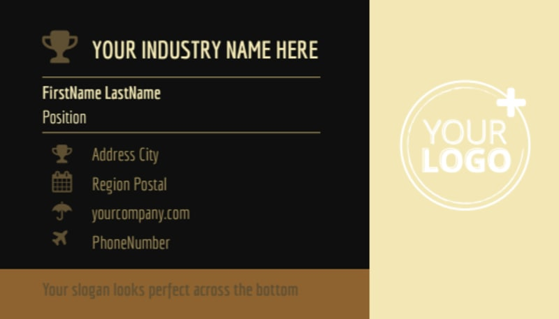 Wine Country Vineyard Business Card Template Preview 2
