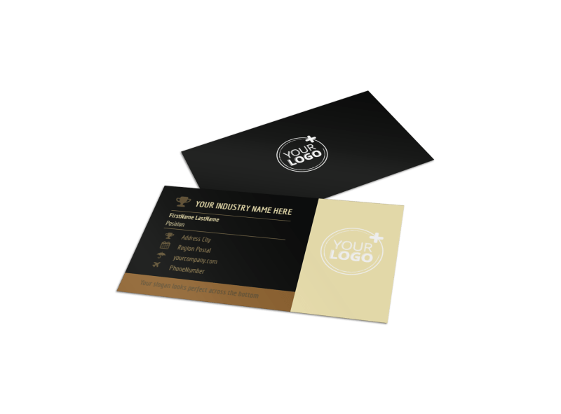 Wine Country Vineyard Business Card Template Preview 1