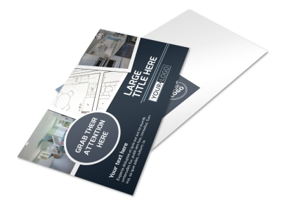 Home Remodeling Professionals Postcard Template preview
