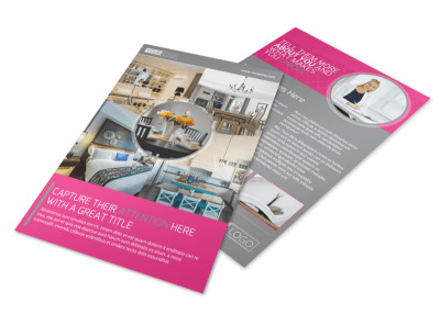 Interior Designers & Decorators Flyer Template