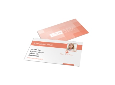 Interior Design Group Business Card Template preview