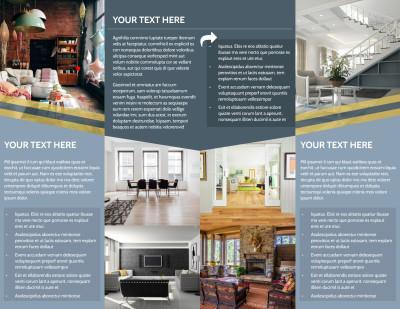 Furniture & Interior Design Brochure Template Preview 2