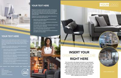 Furniture & Interior Design Brochure Template Preview 1