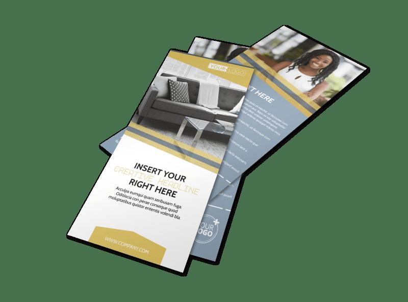Furniture & Interior Design Flyer Template Preview 1