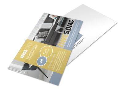 Furniture & Interior Design Postcard Template preview