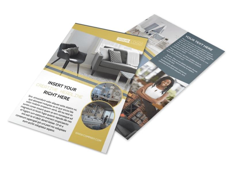 Furniture & Interior Design Flyer Template