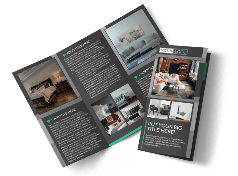 Furniture & Design Consultants Tri-Fold Brochure Template